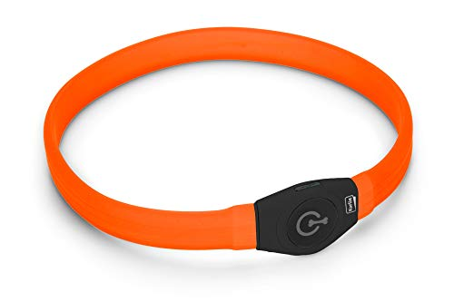 Karlie Visio Light LED Langhaar L: 65 cm B: 2.5 cm orange